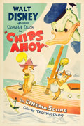 "Movie Posters:Animated, Chips Ahoy (RKO, 1956). One Sheet (27"" X 41"").. ..."