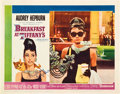 "Movie Posters:Romance, Breakfast At Tiffany's (Paramount, 1961). Autographed Lobby Card(11"" X 14"").. ..."