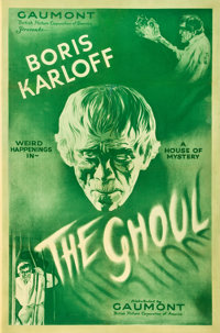 """The Ghoul (Gaumont, 1933). One Sheet (27"""" X 41"""")"""