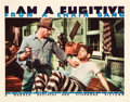 "Movie Posters:Film Noir, I Am a Fugitive From a Chain Gang (Warner Brothers, 1932). LobbyCard (11"" X 14"").. ..."