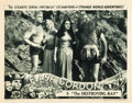 """Movie Posters:Serial, Flash Gordon (Universal, 1936). Lobby Card (11"""" X 14""""). Chapter 5-- """"The Destroying Ray."""". ..."""