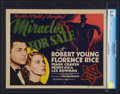 """Movie Posters:Mystery, Miracles for Sale (MGM, 1939). CGC Graded Title Lobby Card (11"""" X 14""""). Comedy.. ..."""