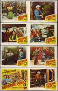 "Movie Posters:Western, Susanna Pass (Republic, 1949). Lobby Card Set of 8 (11"" X 14""). Western.. ... (Total: 8 Items)"