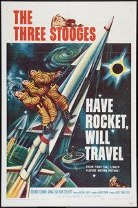 """Have Rocket, Will Travel (Columbia, 1959). One Sheet (27"""" X 41""""). Comedy"""