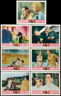 "Movie Posters:James Bond, Goldfinger/Dr. No Combo (United Artists, R-1966). Lobby Cards (7)(11"" X 14""). James Bond.. ... (Total: 7 Items)"