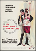 "Movie Posters:Crime, How to Steal a Million (20th Century Fox, 1966). German A1 (23"" X33""). Crime.. ..."