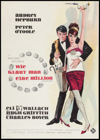 """How to Steal a Million (20th Century Fox, 1966). German A1 (23"""" X 33""""). Crime"""