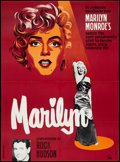 "Movie Posters:Documentary, Marilyn (20th Century Fox, 1963). Danish Poster (24.5"" X 33""). Documentary.. ..."