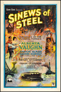 "Movie Posters:Drama, Sinews of Steel (Lumas, 1927). One Sheet (27"" X 41""). Style A.Drama.. ..."