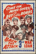 "Movie Posters:War, Back the Attack (War Activities Committee, 1943). One Sheet (27"" X41""). War.. ..."