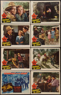"""Movie Posters:Western, Stardust on the Sage (Republic, 1942). Lobby Card Set of 8 (11"""" X 14""""). Western.. ... (Total: 8 Items)"""