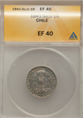 Chile, Chile: Condor 1 Real Pair flying together,... (Total: 2 coins)