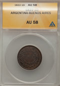 Argentina, Argentina: Buenos Aires Pair of Earliest Coppers,... (Total: 2coins)