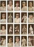 Baseball Cards:Lots, 1912 T207 Recruit Brown Background Collection (20 Different) ...