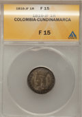 Colombia, Colombia: Libertad Americana 1 Real 1816-JF,...