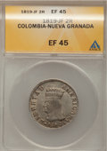 Colombia, Colombia: Libertad Americana 2 Reales 1819-JF, ...