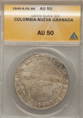 Colombia, Colombia: Bogota 8 Reales 1846-RS,...