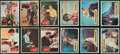 Non-Sport Cards:Sets, 1959 Topps Fabian and 1967 Topps Maya Complete Set Pair (2). ...
