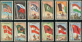 "Non-Sport Cards:Sets, 1963 Topps Midgee ""Flags Of The World"" Near Set (98/99). ..."