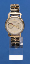 Timepieces:Wristwatch, LeCoultre Gold Filled Futurematic Wristwatch. ...