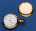 Timepieces:Pocket (post 1900), Illinois 18 Size 24 Jewel Bunn Special Hunter's Case MovementPocket Watch. ...
