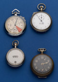 Timepieces:Other , A Lot of Four - Running Pocket Alarm, Two Timers & ProductionCounter. ... (Total: 4 Items)