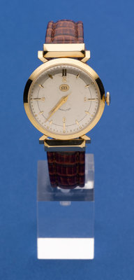 Hamilton 18k Gold Presentation Wristwatch
