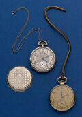 Timepieces:Pocket (post 1900), Two Gold Filled 12 Sizes Pocket Watches Runners. ... (Total: 2 Items)