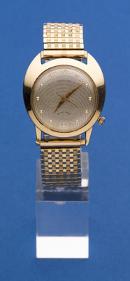 Hamilton 14k Gold Electric Wristwatch