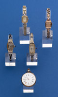 Timepieces:Wristwatch, Lot of Five 14k Gold Wristwatches. ... (Total: 5 Items)