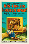 "Movie Posters:Adventure, Frozen River (Warner Brothers, 1929). One Sheet (27"" X 41"").. ..."