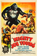 """Movie Posters:Horror, Mighty Joe Young (RKO, 1949). One Sheet (27"""" X 41""""). Style A.. ..."""