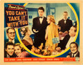 "Movie Posters:Academy Award Winners, You Can't Take It With You (Columbia, 1938). Lobby Card (11"" X14"").. ..."