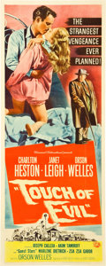 "Movie Posters:Film Noir, Touch of Evil (Universal International, 1958). Insert (14"" X 36"")....."