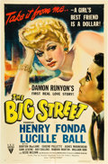 "Movie Posters:Drama, The Big Street (RKO, 1942). One Sheet (27"" X 41"").. ..."