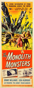 "Movie Posters:Science Fiction, The Monolith Monsters (Universal International, 1957). Insert (14""X 36"").. ..."