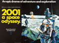 """Movie Posters:Science Fiction, 2001: A Space Odyssey (MGM, 1968). British Quad (30"""" X 40"""").. ..."""