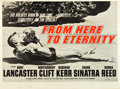"""Movie Posters:Academy Award Winners, From Here to Eternity (Columbia, 1953). British Quad (30"""" X 40"""")....."""