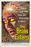 """Movie Posters:Horror, The Brain Eaters (American International, 1958). One Sheet (27"""" X 41"""").. ..."""