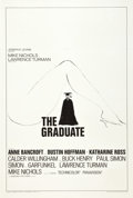 "Movie Posters:Comedy, The Graduate (Embassy, 1968). One Sheet (27"" X 41""). Style B.. ..."