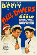 "Movie Posters:Adventure, Hell Divers (MGM, 1932). One Sheet (27"" X 40.5"").. ..."