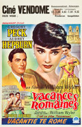 "Movie Posters:Romance, Roman Holiday (Paramount, 1953). Belgian (14"" X 21.25"").. ..."