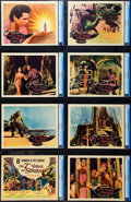 """Movie Posters:Fantasy, The 7th Voyage of Sinbad (Columbia, 1958). CGC Graded Lobby CardSet of 8 (11"""" X 14"""").. ... (Total: 8 Items)"""