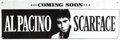 "Movie Posters:Crime, Scarface (Universal, 1983). Banner (24"" X 71""). Advance.. ..."