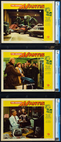 "Movie Posters:Science Fiction, The Deadly Mantis (Universal International, 1957). CGC Graded LobbyCards (7) (11"" X 14"").. ... (Total: 7 Items)"