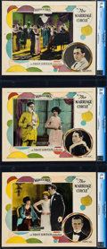 """Movie Posters:Comedy, The Marriage Circle (Warner Brothers, 1924). CGC Graded Lobby Cards(3) (11"""" X 14"""").. ... (Total: 3 Items)"""