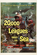 "Movie Posters:Science Fiction, 20,000 Leagues Under the Sea (Buena Vista, 1954). One Sheet (27"" X41""). Style A.. ..."