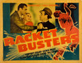 "Movie Posters:Crime, Racket Busters (Warner Brothers, 1938). Half Sheet (22"" X 28"")....."