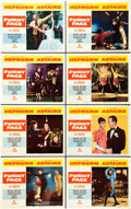 "Movie Posters:Romance, Funny Face (Paramount, 1957). Lobby Card Set of 8 (11"" X 14"").. ...(Total: 8 Items)"