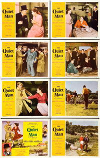 "The Quiet Man (Republic, 1952). Lobby Card Set of 8 (11"" X 14""). ... (Total: 8 Items)"